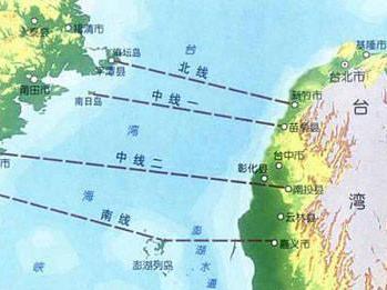 台湾海峡隧道是一项连接台湾海峡东西两侧中国大陆与台湾... 图片 19k 349x261