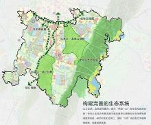 天府新区规划图