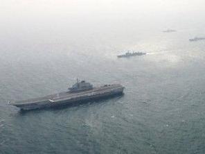 中国辽宁号航空母舰 航空母舰