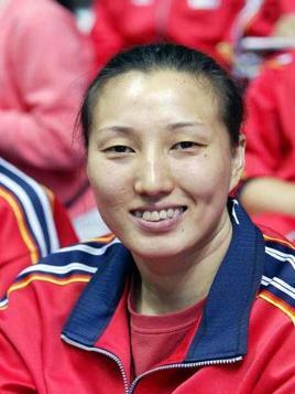 王丽娜 排球运动员 高清图片