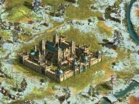 《帝国文明》游戏截图答:所有的资源矿都分布在外城的四周.四种资