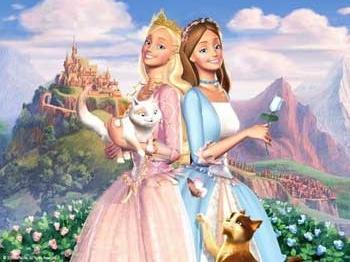 [1] 芭比公主是一系列的动画片,是专门为少女和小女孩们设计