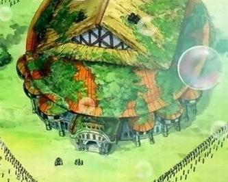 香波地群岛是漫画《海贼王》里的一个岛,又名肥皂泡群岛,位高清图片