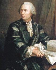 欧拉,全名是莱昂哈德·欧拉(leonhard euler,1707-1783),1707高清图片