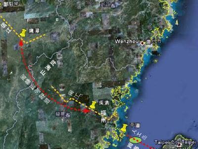 台湾海峡隧道是一项连接台湾海峡东西两侧中国大陆与台湾... 图片 28k 400x300