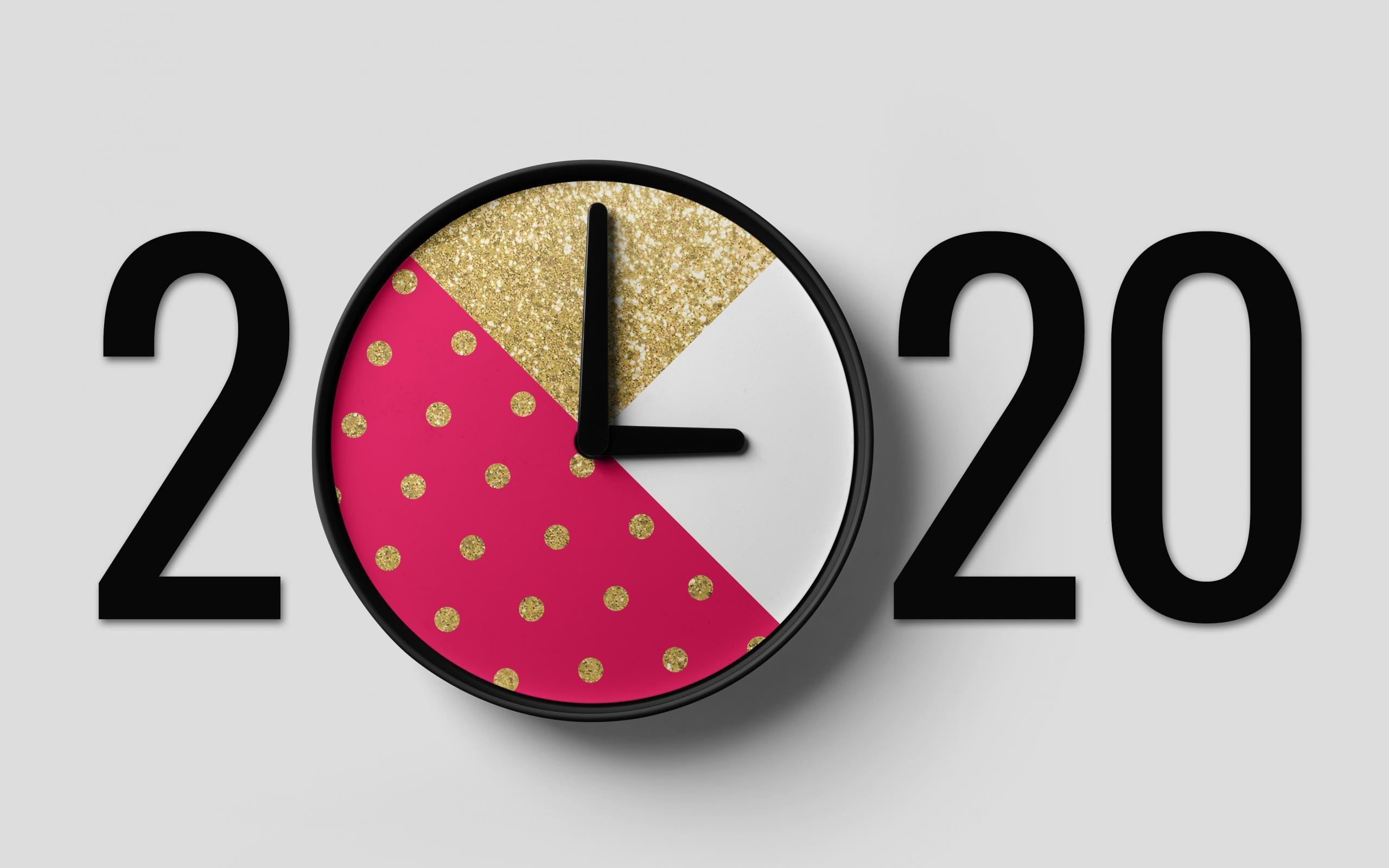 2020创意新颖艺术字高清电脑壁纸