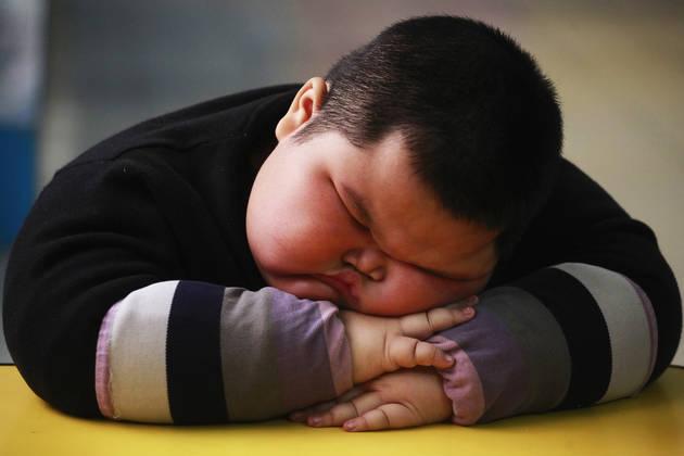 中国的肥胖问题越来越严重,尤其是儿童。