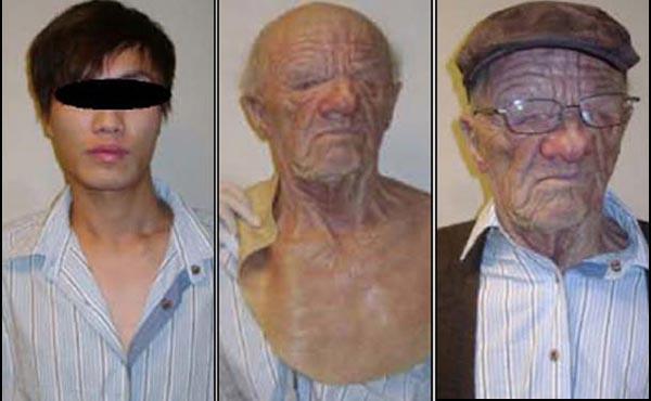 """2010年,一个中国男孩易容为白人老翁""""偷渡"""",轰动一时"""