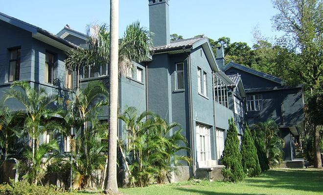 蒋介石位于台湾阳明山的士林官邸