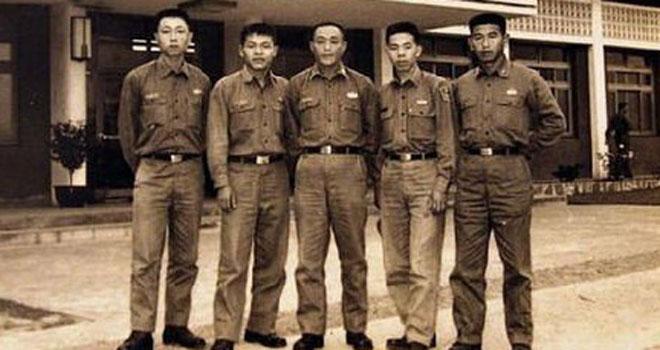 上世纪五十年代的台湾特种兵。