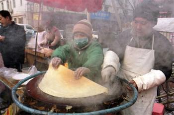 卖煎饼的,同样是一个大城市所需要的人才