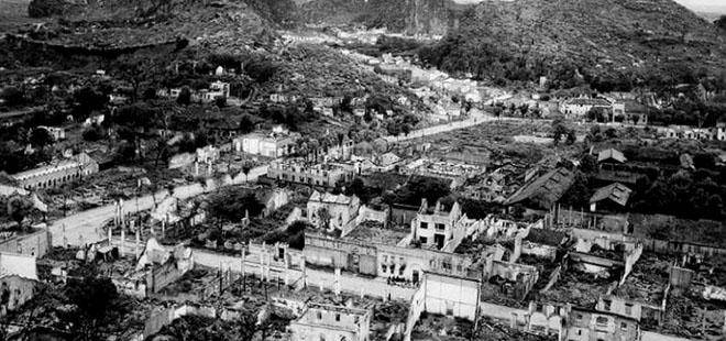 日军蹂躏后的桂林