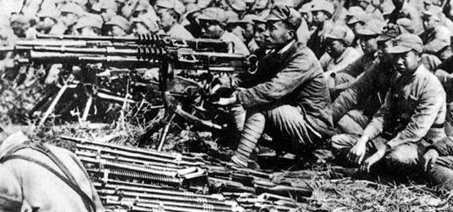 皖南事变中被困的新四军。桂系的李品仙部参与了围攻。