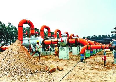 输送煤制天然气到北京的管道