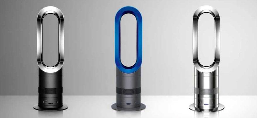 没有扇叶的风扇:戴森AM05冷暖器