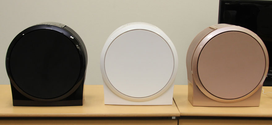 圆脑袋的空气净化器:东芝uLos润雅CAF-KP50XC