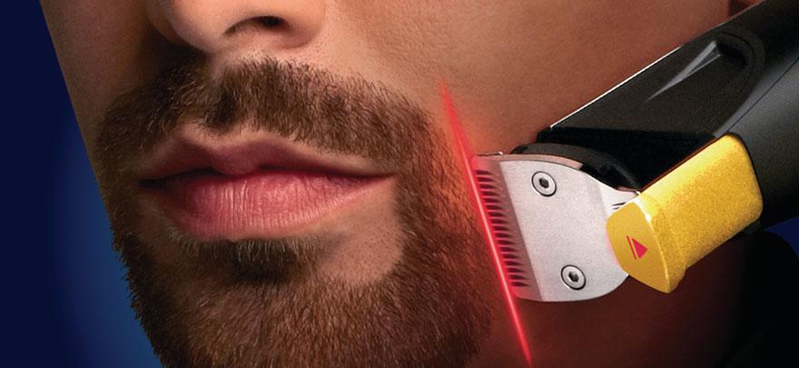 带激光制导的剃须刀:飞利浦StyleXpert Beardtrimmer 9000(BT9290)