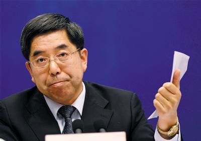 国家统计局局长马建堂为收入数据透明化作出不少努力