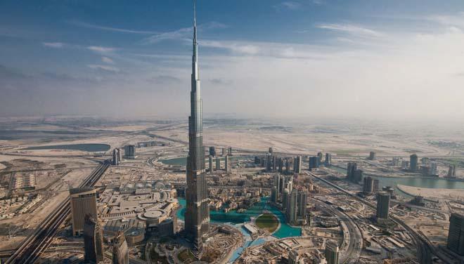 """迪拜在城市建设上也追求""""新奇酷"""""""