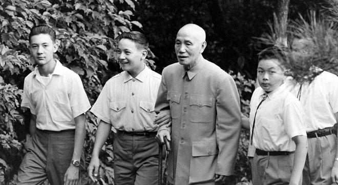 蒋介石游阳明山,1961年