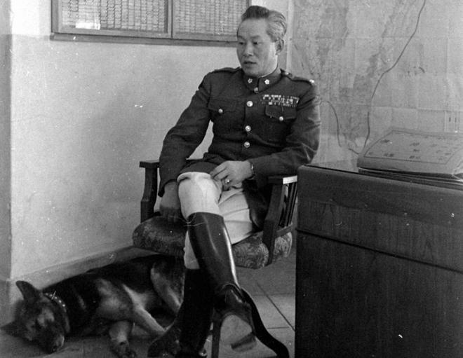 1949年,孙立人在台湾
