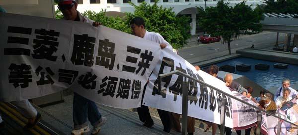 中国劳工一直没有放弃维权的努力