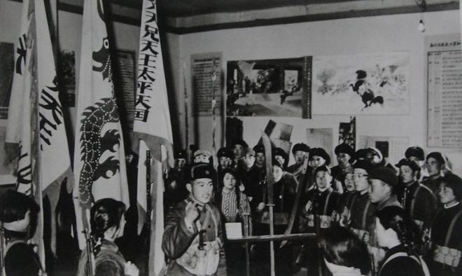 1949年后,民众参观太平天国遗物