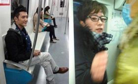 为了时间有保障,不少大牌也会乘地铁出行