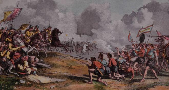 清军与太平军在江西交战