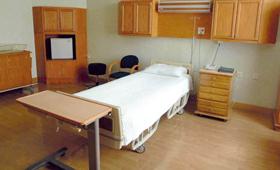 网传王菲所选疗养医院的超大号房间