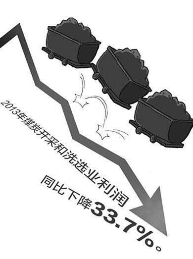 煤炭行业13年持续低迷,图源自南方周末