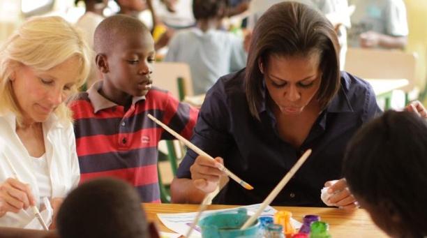 米歇尔是教育问题的持续关注者