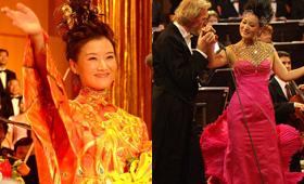 宋祖英、谭晶等民歌歌手都曾登上金色大厅