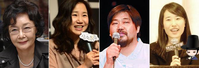 金秀贤、金恩淑、崔完圭、朴智恩,这四位作家目前的单集稿酬都达到了1亿韩币,和都叫兽的片酬持平。