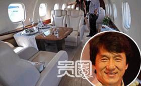 成龙大哥的私人飞机,飞一次要30-50万