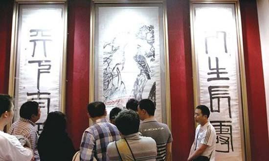 《松柏高立图篆书四言联》引发极大争议