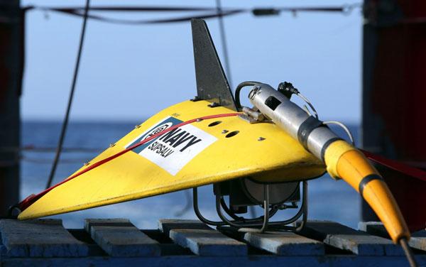 """美国产TPL-25拖曳声波定位仪,与""""蓝鳍金枪鱼""""合计造价360万美元"""