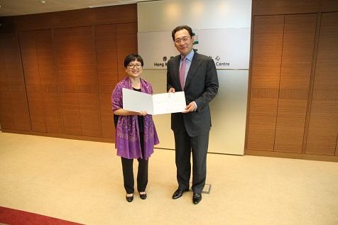宋林担任香港道德发展中心主席时频繁参与各项活动的宣传