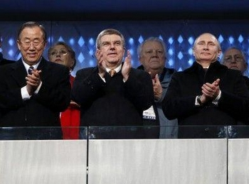 为筹备索契冬奥会普京动用了大量商界关系