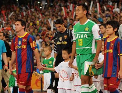 前几年中国商业球赛盛行,如今已大大减少