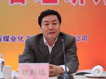 能源局煤炭司副司长魏鹏远