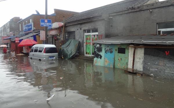 2012年北京特大暴雨,奶西村受重灾,这里的生存环境其实很不好