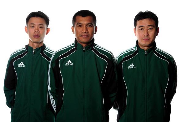 穆宇欣(右)是上届唯一入选世界杯的中国裁判