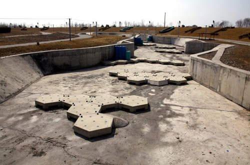 北京奥运部分场馆在后来处于荒废状态