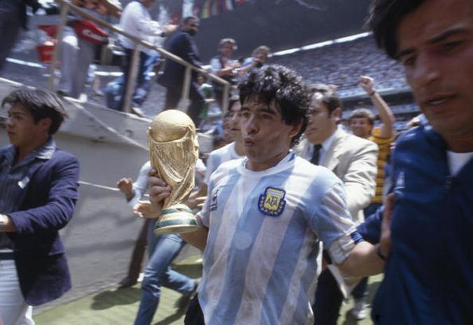 马拉多纳影响了一代球迷