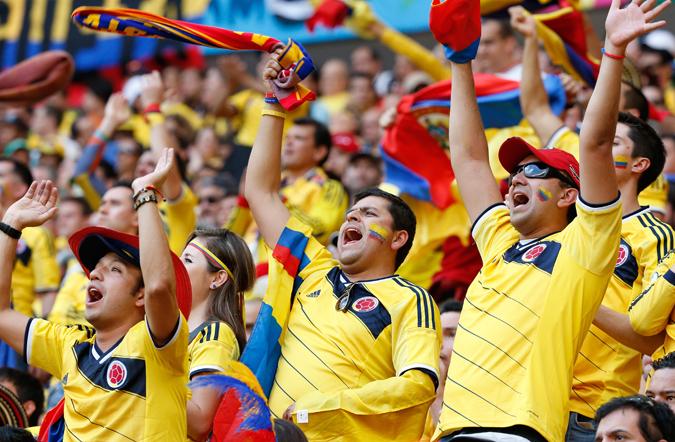 尽管锋线王牌法尔考缺阵,但哥伦比亚还是为球迷上演了进球盛宴