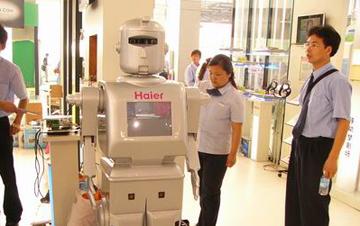 机器人捍卫中国世界工厂?