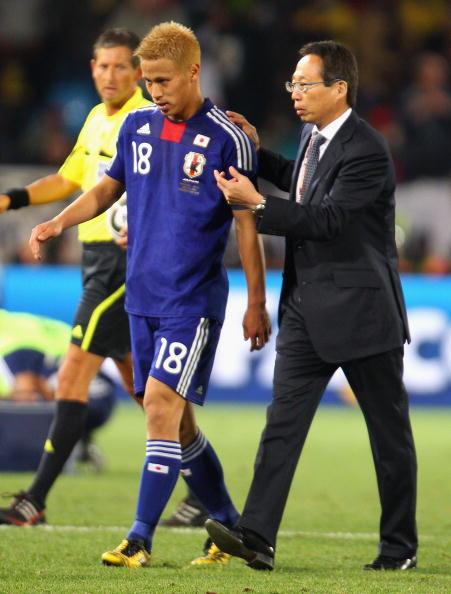 南非世界杯,冈田武史指导本田圭佑