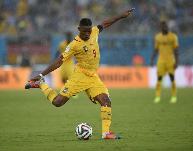 巴西世界杯是埃托奥代表国家队参加的第四届世界杯