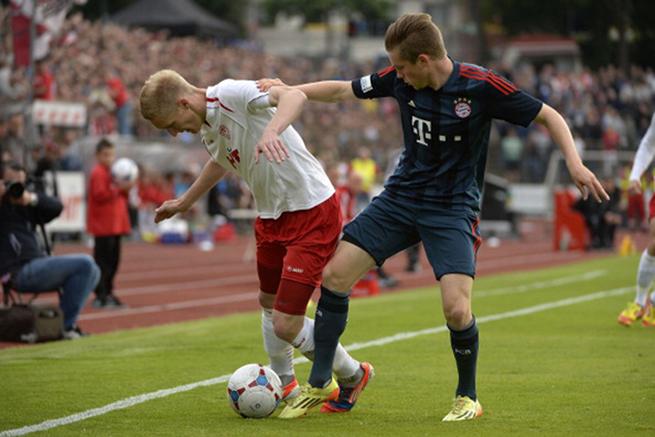 拜仁青年梯队参加德国第三级别联赛